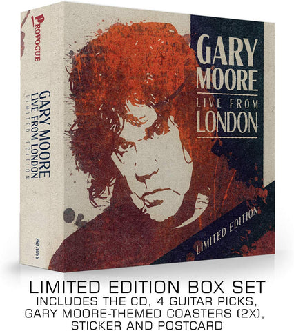 Gary Moore - Live From London (LTD Deluxe Edition) AUDIO CD