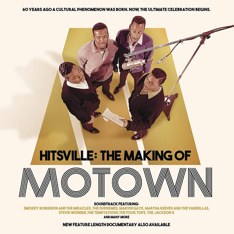 Hitsville: The Making Of Motown - The Supremes Sent Sameday* AUDIO CD