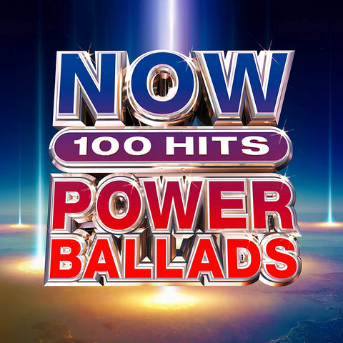 NOW 100 Hits Power Ballads - Meat Loaf Bonnie Tyler Sent Sameday* AUDIO CD