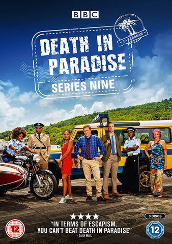 DEATH IN PARADISE SERIES NINE DVD
