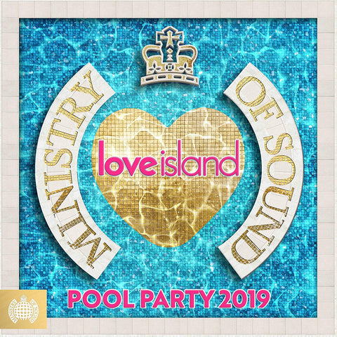 MOS Love Island: Pool Party 2019 - Ministry Of Sound Sent Sameday* AUDIO CD