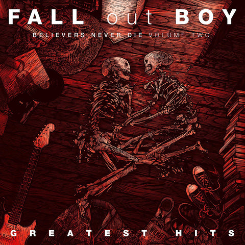 Fall Out Boy - Believers Never Die Vol2 Greatest Hit Sent Sameday* AUDIO CD