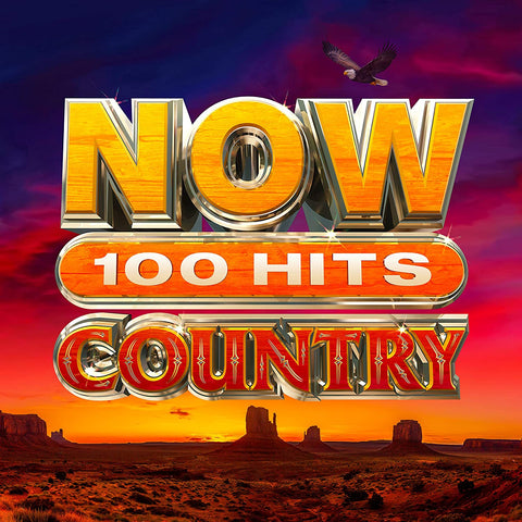 NOW 100 Hits Country - Various Sent Sameday* AUDIO CD