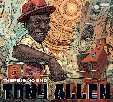 Tony Allen - There Is No End Sent Sameday* AUDIO CD