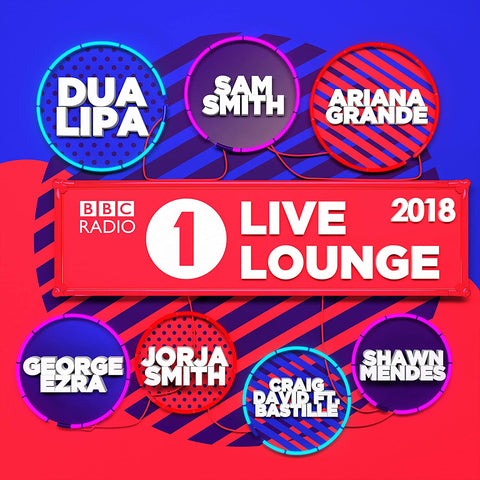 BBC Radio 1's Live Lounge 2018 - Sam Smith Audio CD
