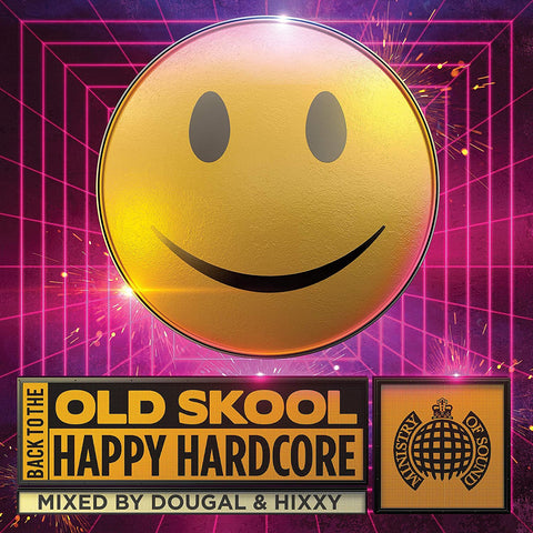 Back To The Old Skool: Happy Hardcore - MOS AUDIO CD