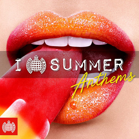(MOS) I Love Summer Anthems - Ministry of Sound AUDIO CD