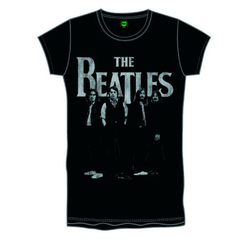 The Beatles Boys Iconic and Logo Short Sleeve T-Shirt, Black, Small