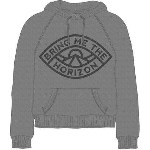 Bring Me The Horizon Mens Eye Sweatshirt, Grey, Medium
