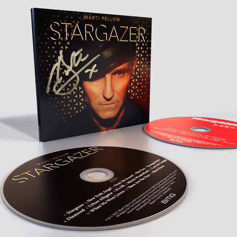 Marti Pellow - Stargazer 2CD Limited Signed Copy [CD] Sent Sameday*