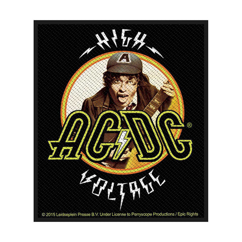 AC/DC ACDC - Patch Aufnäher High Voltage Angus 8x10cm