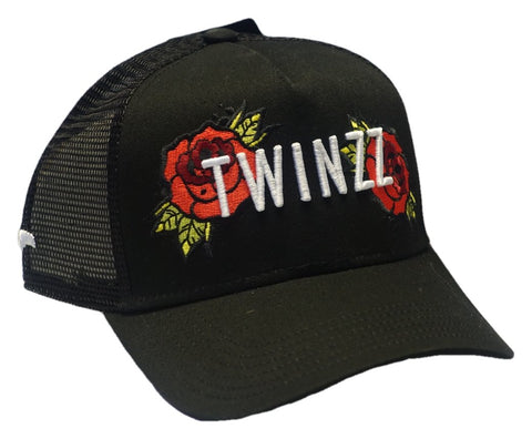 Twinzz - Twinzz 3D Mesh Rose Snapback Sent Sameday*
