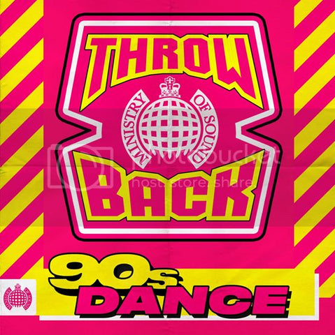 (MoS) Throwback 90s Dance - Ministry Of Sound Audio CD