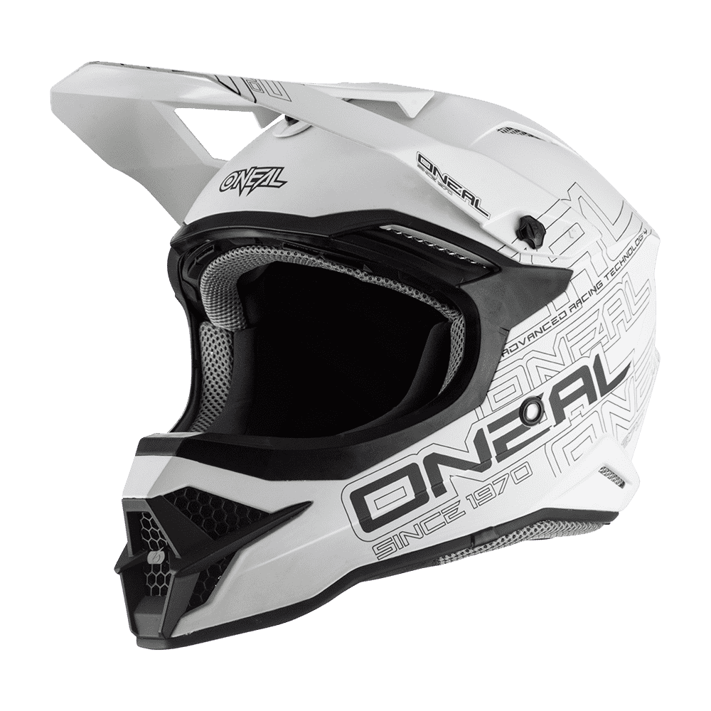 O´Neal 3 Series MX Helm flat white