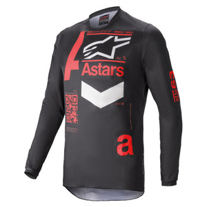 Alpinestars Fluid Chaser MX Jersey Black / Bright Red