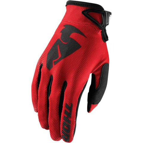 Thor Sector S8 Youth Handschuhe black / red