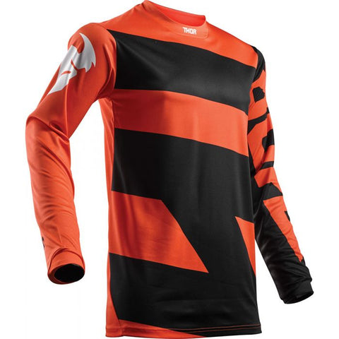Youth Pulse MX Jersey black / orange
