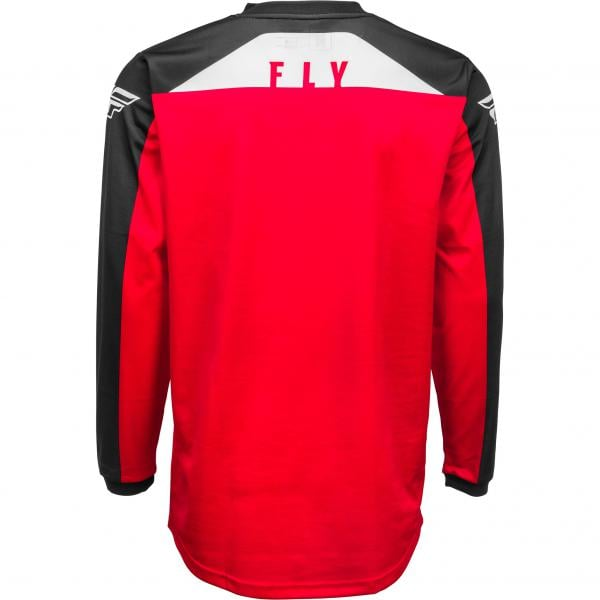 Fly F-16 Youth MX Jersey red