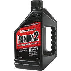 MAXIMA ENGINE OIL 2-STROKE / 1 LITER | 33,8 FL. OZ. / RED