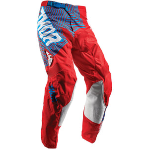 Thor Pulse Level S8 MX Pant geotec blue / red