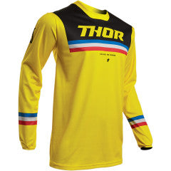 Thor Pulse Pinner MX Jersey yellow