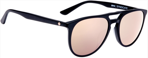 SPY OPTIC Sunglasses Syndicate matte black rose