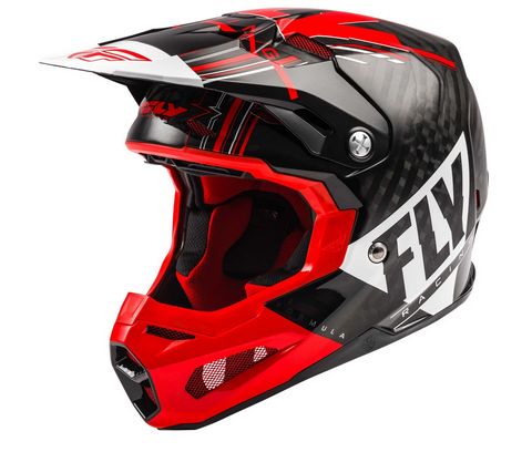FLY Racing Formula Helm red / white / black