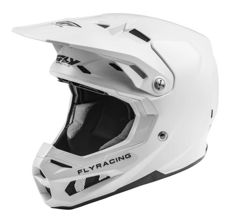 FLY Racing Formula Helm white