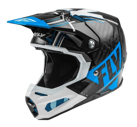 FLY Racing Formula Helm blue / white / black