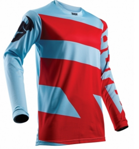 Thor Pulse Level S18 MX Jersey red / blue