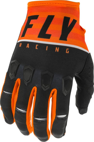 Fly Racing Handschuhe Kinetic K120 orange-schwarz-weiß // 2020