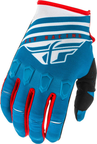 Fly Racing Handschuhe Kinetic K220 blau-weiß-rot // 2020