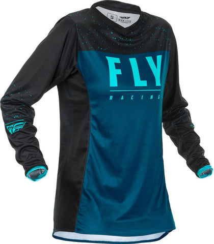 FLY Racing Hemd Lite Lady navy-blau-schwarz // 2020