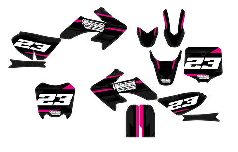 "IMR / MRF Dekor ""Slipstream"" dark pink"