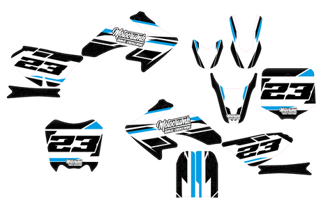 "IMR / MRF Dekor ""Slipstream"" white blue"