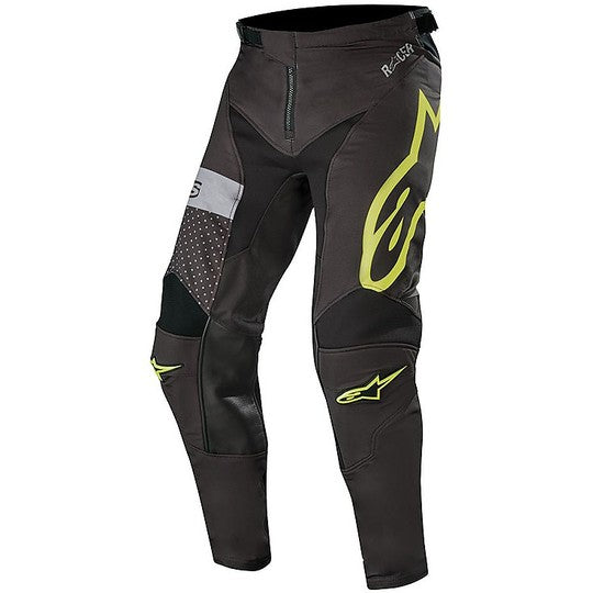 Alpinestars Racer Tech Atomic MX Pant black / yellow fluo / gray