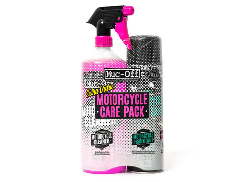 MUC OFF MOTORCYCLE CARE PACK