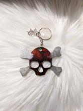 Load image into Gallery viewer, Pirate Skull Keychain
