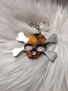 Pirate Skull Keychain