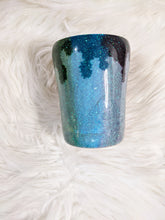 Load image into Gallery viewer, Painted Rainbow Glitter 10oz Tumbler