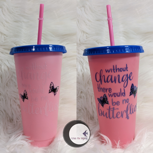 Color Changing Butterfly Cup