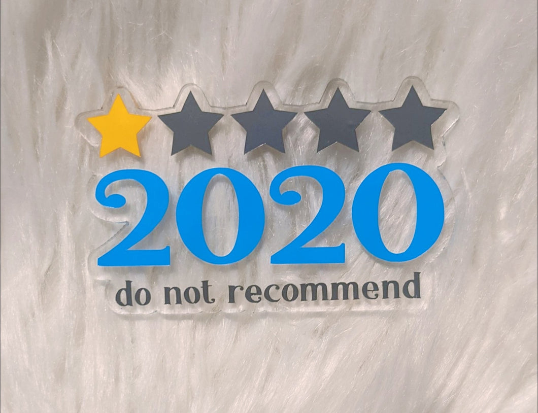 Rate 2020 Ornament (or magnet)