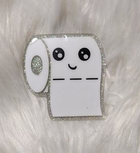 Toilet Paper Ornament (or magnet)