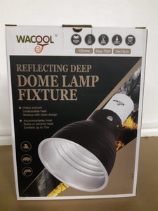 5.5 inch 75W max rated dome light fixture