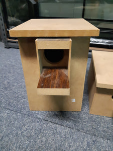 Peachface/lovebird breeding nest box