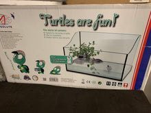 3 ft Turtle tank with filter and dock