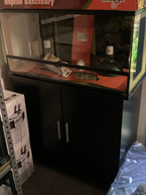 90cm 3ft Black melamine cabinet