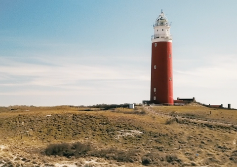 Picture of Lighthouse on Texel, Netherlands