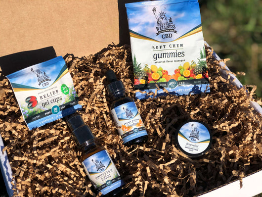 'Sampler #1' CBD Gift Pack