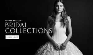 Bridal 1, is khallouf's first bridal collection released in 2016. After almost 10 years working in custom bridal, Lillian wanted to refine her aesthetic and set a tone for the LK bride. This is the introduction to the LK brides vision
